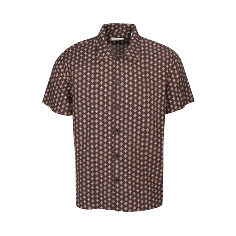 Short Sleeve Camp Collar Shirt by 7 For All Mankind
