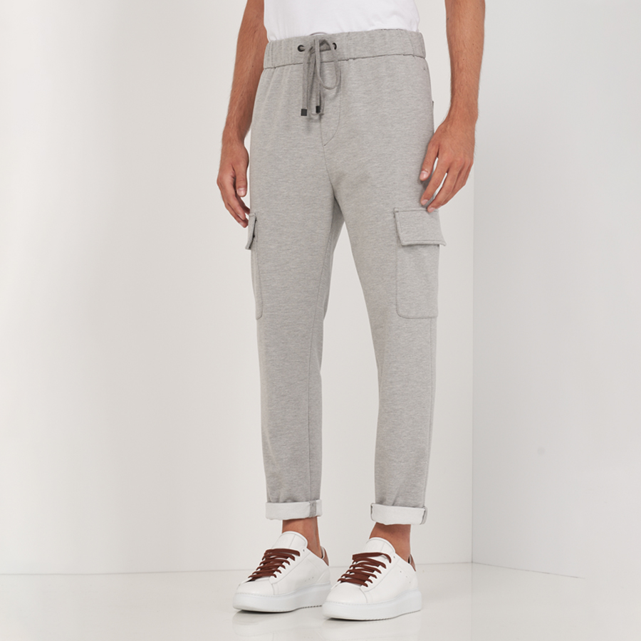 Jersey Cuffed Trousers by