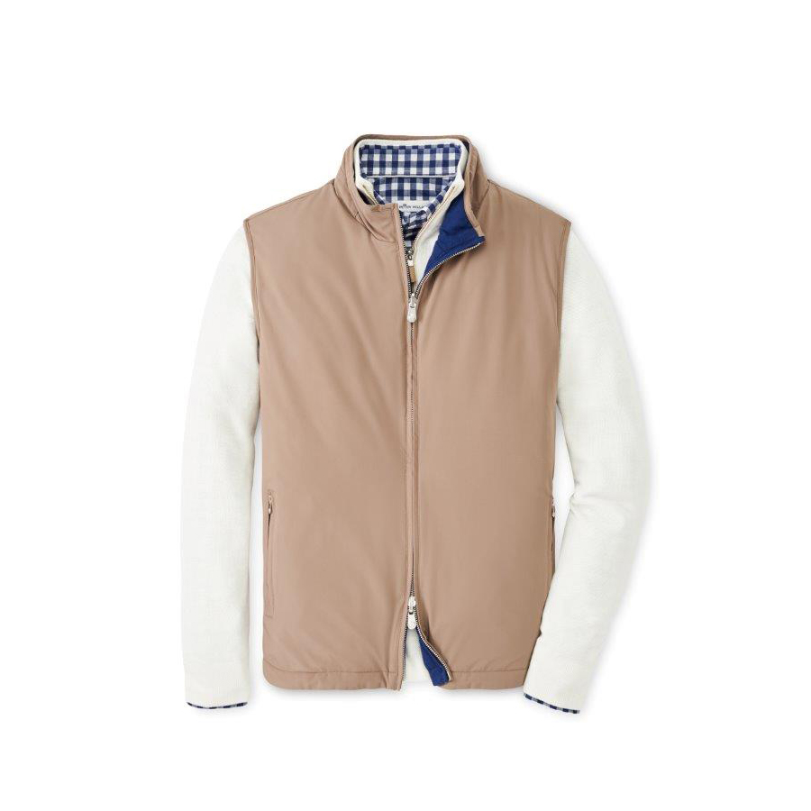 Crown Soft Reversible Vest by Peter Millar